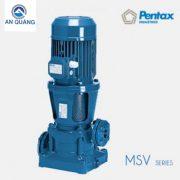 Máy bơm trục đứng đa tầng cánh Pentax MSVD