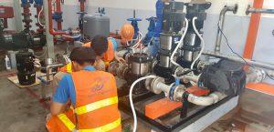 Sửa máy bơm nước - công ty TNHH xây lắp An Quảng